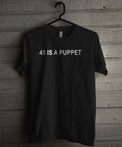 45 is a puppet fake president seal T-shirt