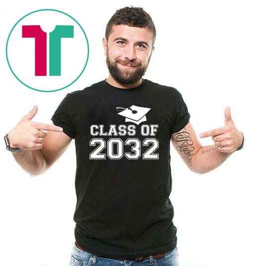 Class of 2032 Grow With Me Shirt Back To School Gift Tee