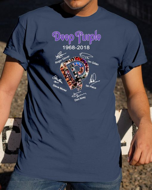 Deep Purple 1968-2018 Tee shirt
