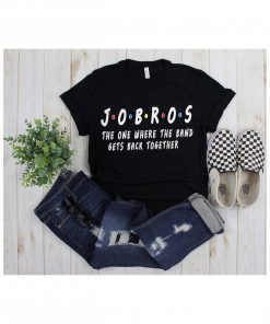 Friends Themed Shirt,friends tv show,Jobros the one where the band get back Together,jobro the one,sucker for you,jobros,im a sucker for you
