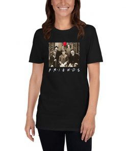 Horror Characters Friends Tee shirts