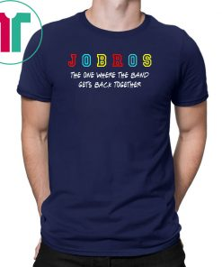 Jobros-The One Where The Band Gets Back Together Classic Tee Shirt