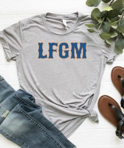 LFGM Baseball Gift Idea Catchers Pitchers Baseball Lovers Classic Tee Shirts