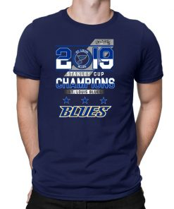 Mens St Louis Blues 2019 Stanley Cup Champions Classic T-Shirt