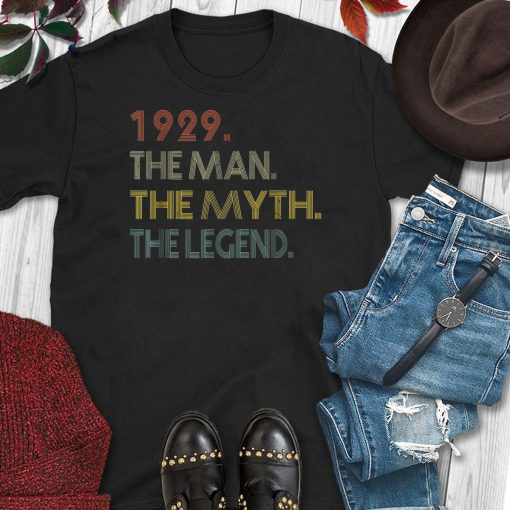 The Myth The Legend 1929 90th Birthday Gifts 90 years old
