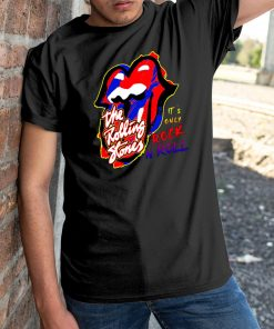 The rolling stones it's only rock and roll shirt