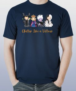 Chillin' Like a Villain Chibi shirt