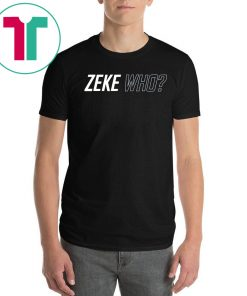 Womens Zeke Who That's Who T-Shirt