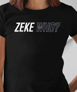 Zeke Who That's Who Offcial T-Shirt