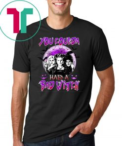 You Coulda Had A Bad Witch Sisters Halloween T-Shirt