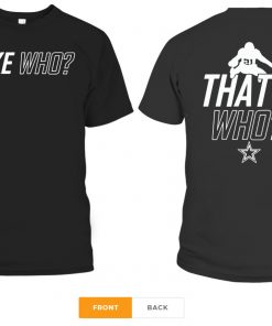 Zeke Who Dallas Cowboys official T-Shirts