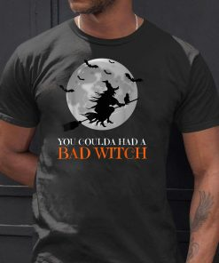 you coulda had a bad witch shirt Funny Halloween Gift TShirt