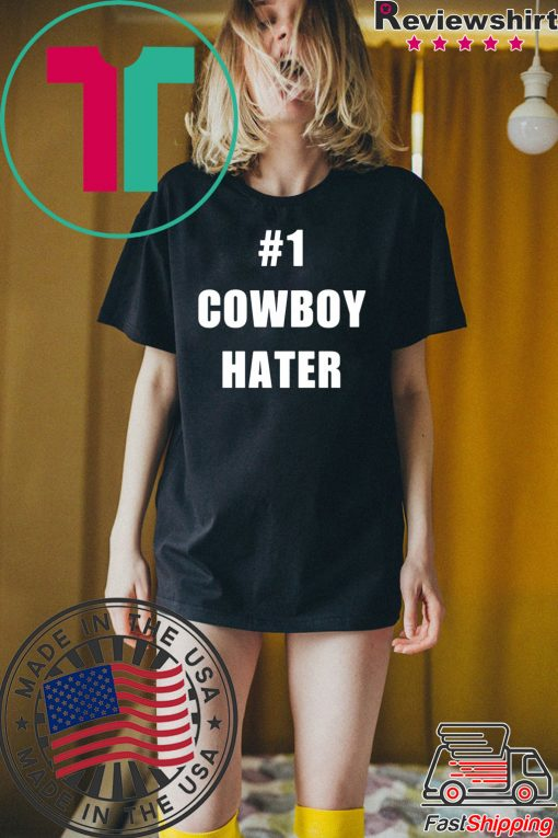 #1 Cowboy Hater Houston Texans fuck the Cowboys Tee Shirt