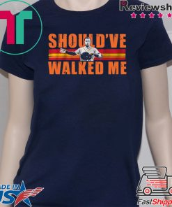Alex Bregman Should've walked me Tee Shirt