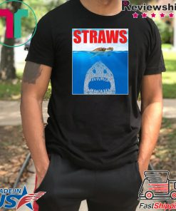 Anti Straws Save The Sea Turtles Save The Earth T-shirt