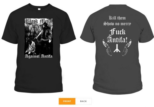 Behemoth's Nergal Reveals 'Black Metal Against Antifa' Unisex T-Shirts
