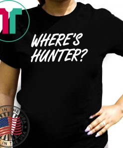 where to buy Where's Hunter Tee Shirts