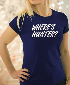 Where's Hunter Limited Edition shirts