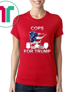 Where to buy 'Cops for Donald Trump' T-Shirt