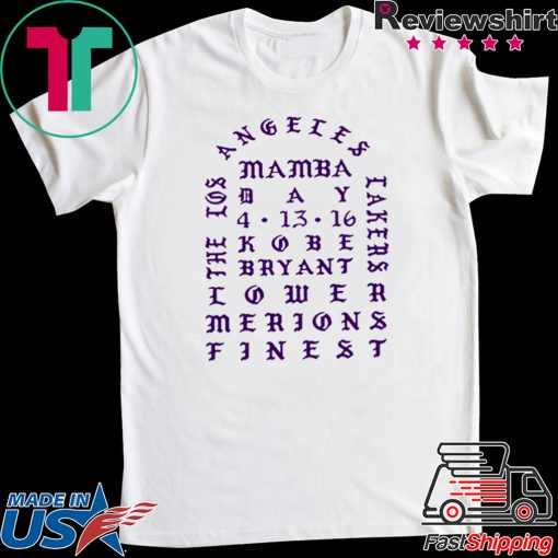 I Feel Like Kobe Bryant Mamba T-Shirt